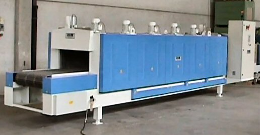 ELECTRICALLY HEATED CONVEYOR BELT FURNACE MODEL 2.76.4