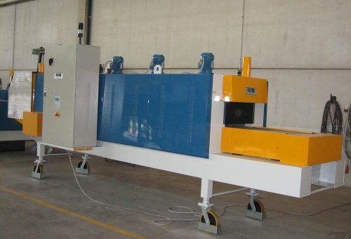 CONVEYOR BELT ELECTRIC FURNACE WITH FORCED AIR CIRCULATION – MODEL 2.73.1.2